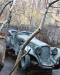 Автомобиль, в котором летала Маргарита.